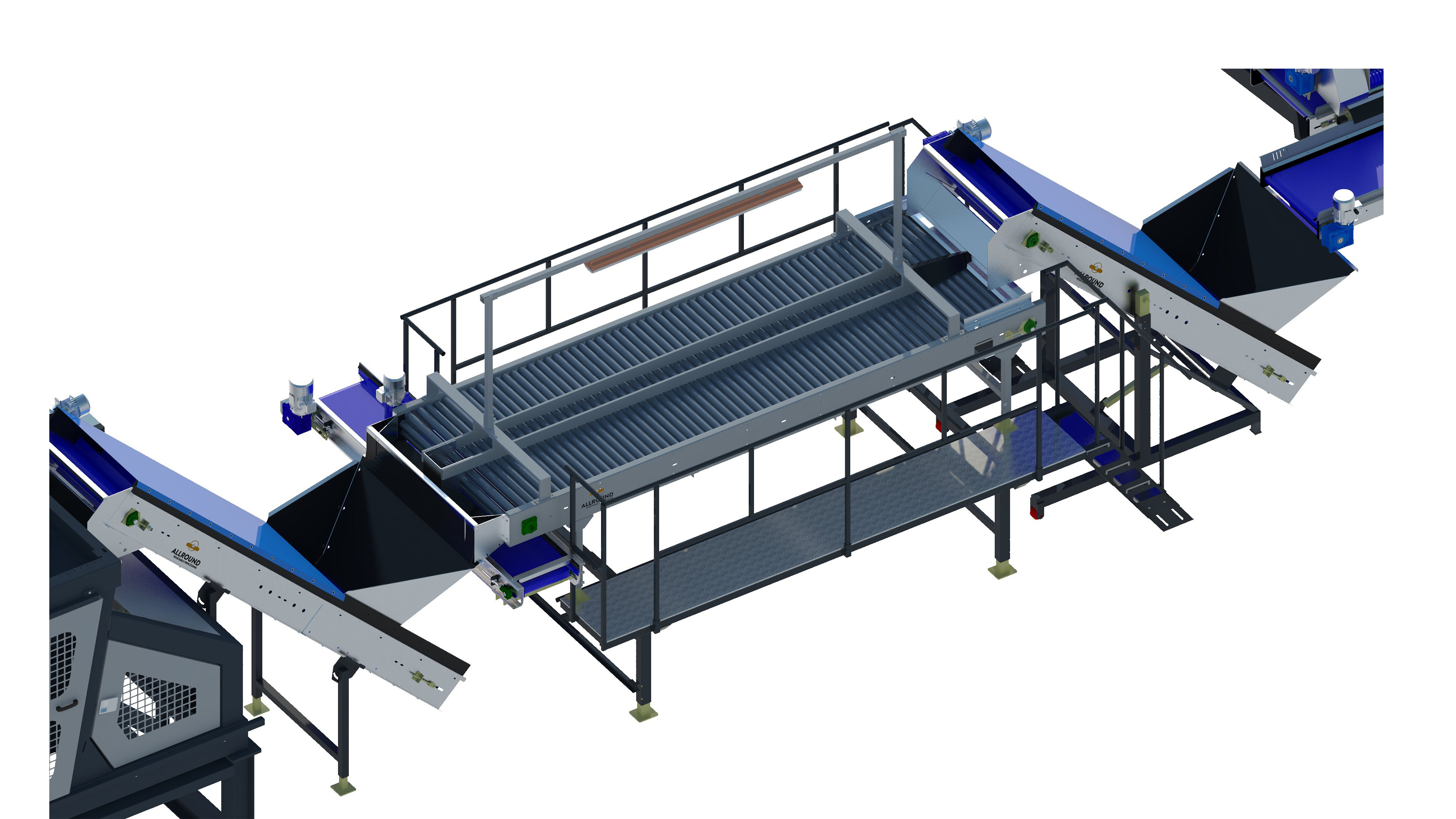 Allround inspection table